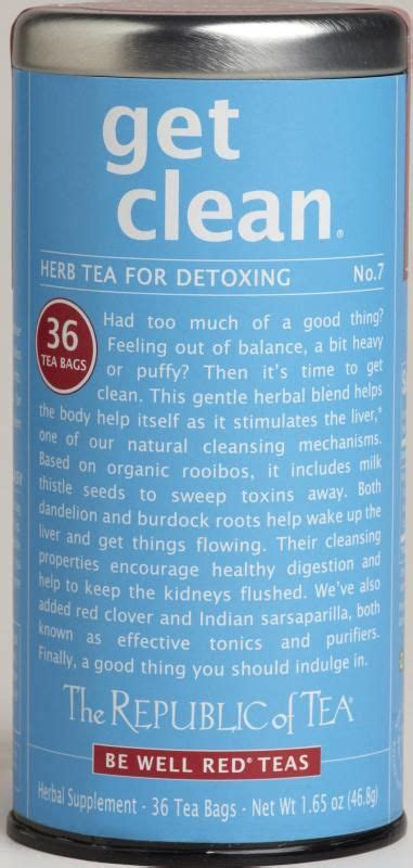 Get Clean Herb Tea For Detoxing by Flavor Nothing Offensive I One Cup A Day And