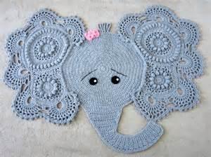 elephant rug for nursery elephant rug crochet elephant crochet elephant rug nursery