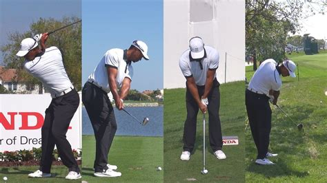 pga tour golf swings tiger woods 2014 honda pga national golf course pro am