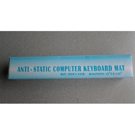 Anti Static Computer Mat by Anti Static Computer Keyboard Mat 30cm X 55cm Brand New