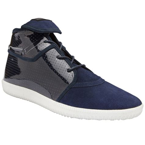android homme shoes android homme mach 1 shoes in blue for navy lyst