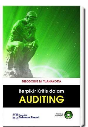Profesi Akuntan Publik Di Indonesia Pembahasan Kritis ebook berpikir kritis dalam auditing berpikir kritis dalam ebook