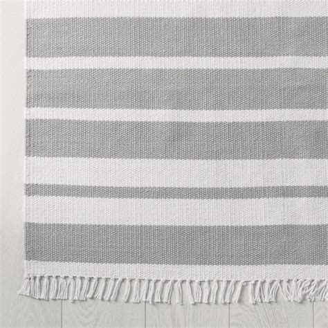 White Company Rugs by Grey Stripe Grey Stripe Rug By The White Company Goodglance