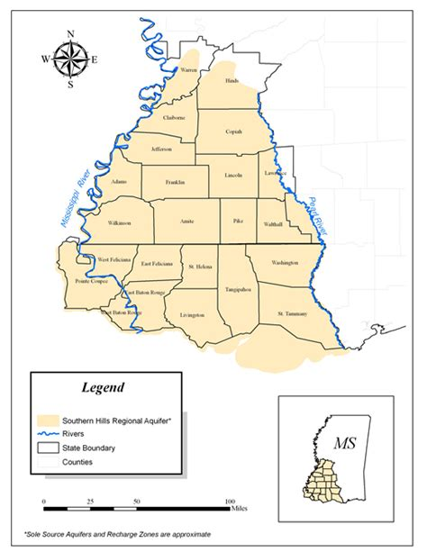 louisiana aquifer map sole source aquifer program ground water protection