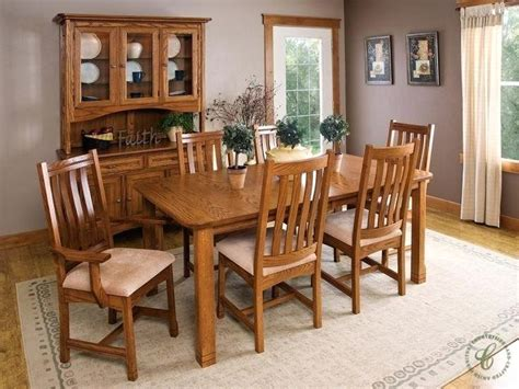 Handmade Kitchen Table - amish table and chairs thelt co
