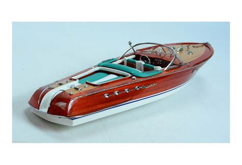 riva speed boats models hand built riva aquarama rc ready classic speed boat model
