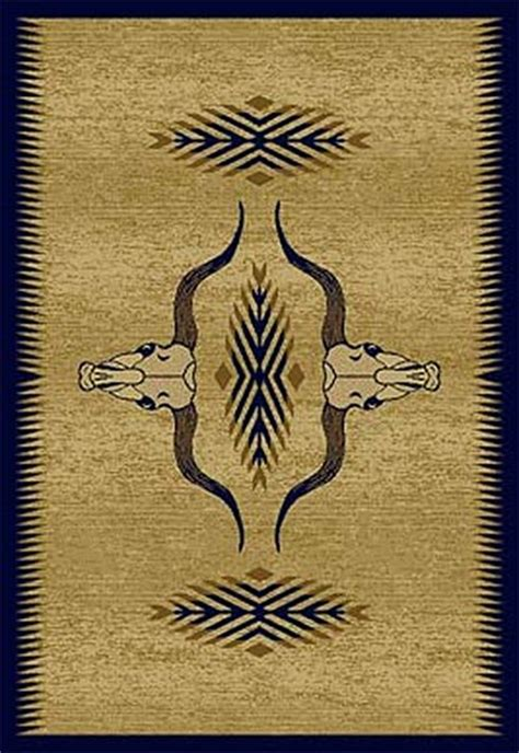 longhorn rug longhorn rug collection cabin place