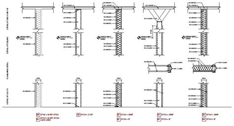 Interior Partition Types your wall partition quot schedule quot an actual schedule