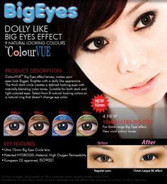 Softlens Colourvue Big Dolly Black check out http www contactlensxchange for more exciting brand colored circle lenses