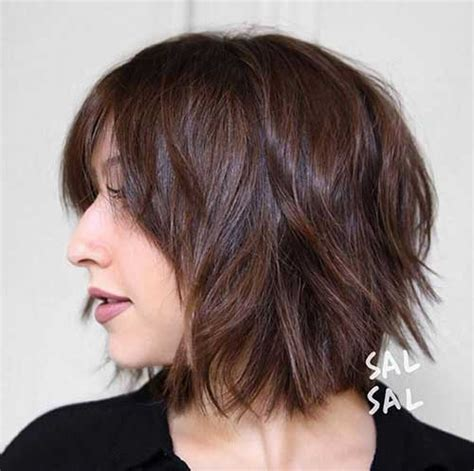 brunette womens shaggy layered short haircuts ladies beloved brunette bob hairstyles short hairstyles
