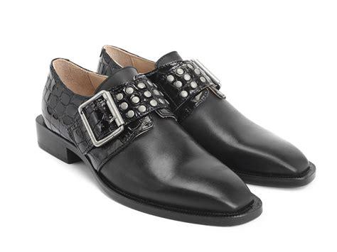 fluevog shoes fluevog shoes shop magnum black buckled shoe with