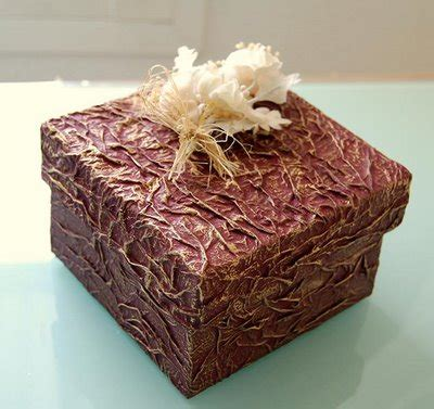 tecnicas para decorar cajas de carton aprende a reciclar y decorar envases y cajas bricolaje
