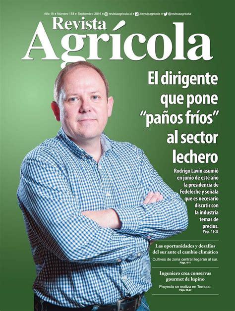 revista motor septiembre 2016 revista agr 237 cola septiembre 2016 by revista agr 237 cola issuu