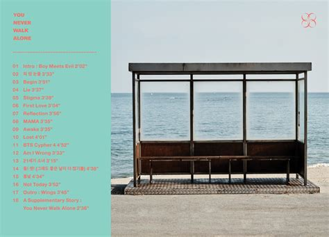 bts you never walk alone bts reveals track list for quot you never walk alone quot soompi