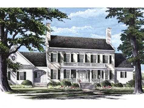 Federal House Plans by Federal Style Georgian Federal Colonial Revival