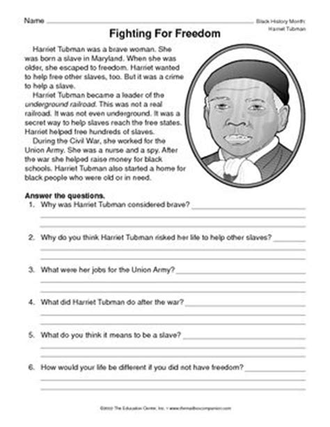 harriet tubman elementary biography harriet tubman black history month pinterest search