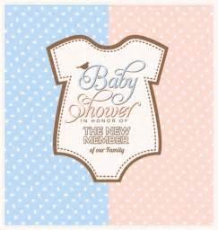 baby shower invitation design vector free