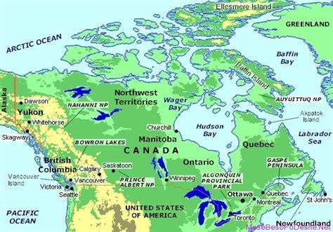 canadian map rivers and lakes liqenet dhe lumenjte me te cuditshem ne bote