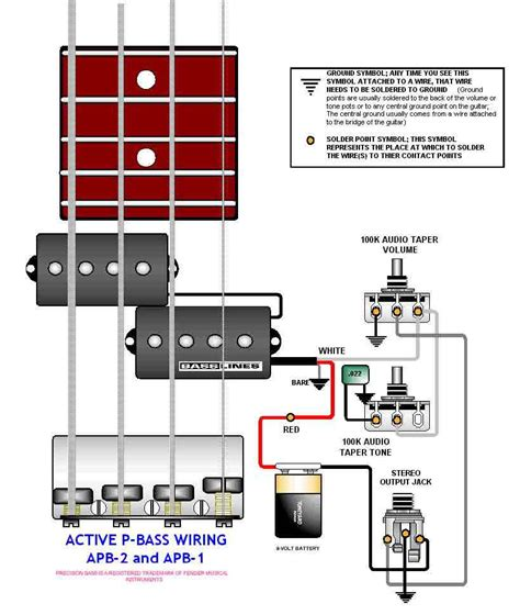activebass wiring diagram guitar wiring drawings switching system bass guitar active pbass 048 pict schemes drawings
