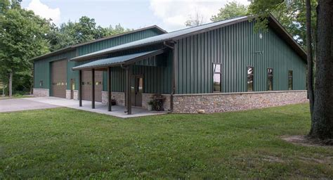 Amazing Metal Building Garage   Metal Building Homes