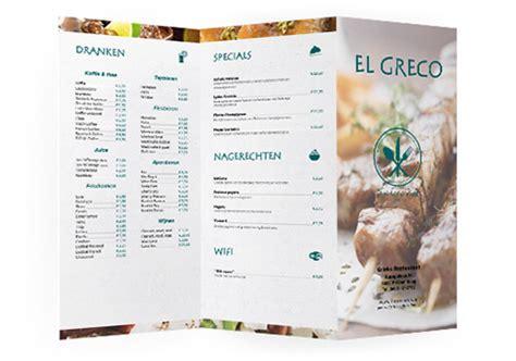 menu kaart layout hor 233 cards menukaart web design restaurant hotel