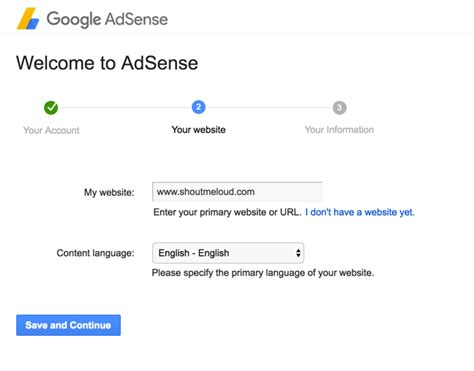 adsense without website or blog how to create an adsense account technical knowledge