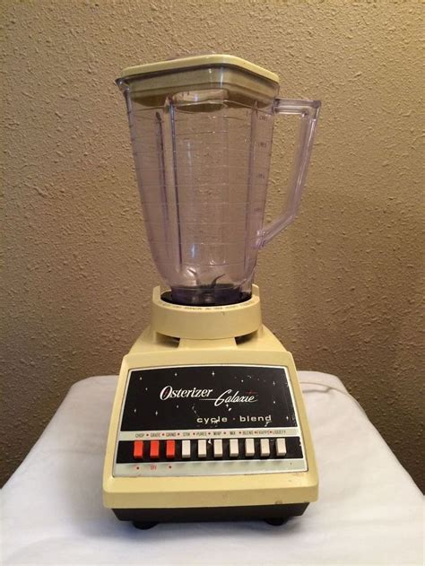 Oster Osterizer Galaxie Cycle Blend 10 Speed Blender Model
