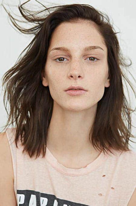 choppy lob hairstyle choppy lob haircut haircuts models ideas