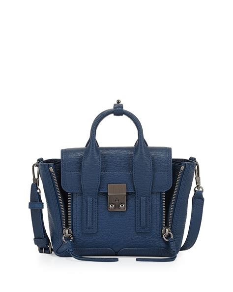 phillip lim bag sale 3 1 phillip lim pashli mini satchel bag in blue lyst