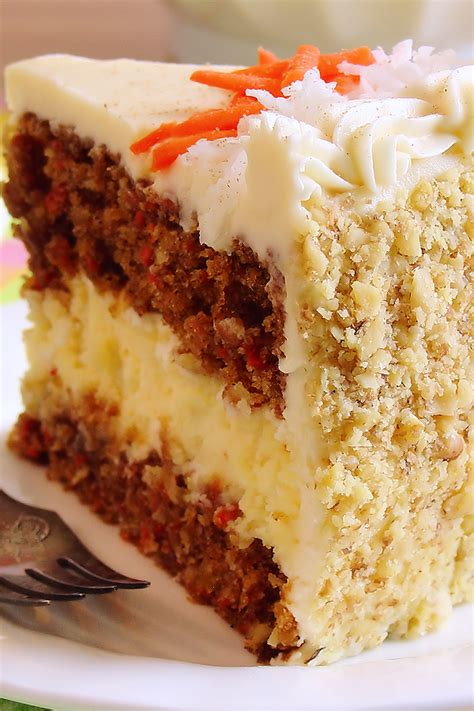 best cheese cake recipe carrot cake cheesecake cake bakery style