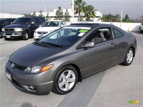 2007 Honda Civic Ex by Galaxy Gray Metallic 2007 Honda Civic Ex Coupe Exterior