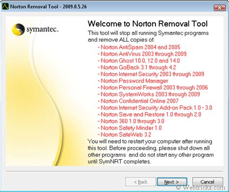 Beautiful Useful New Security Product From Norton by Norton Antivirus Removal Tool 2009