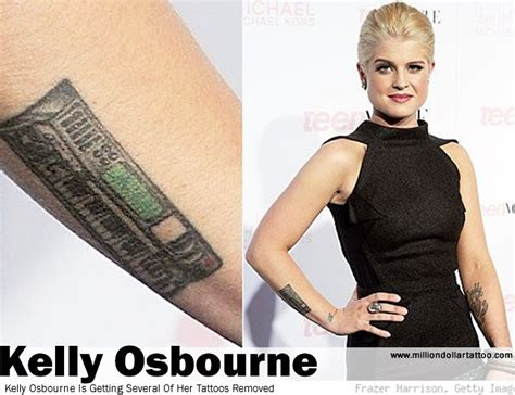 my name is kelly tattoo osbourne is getting several of tattoos removed