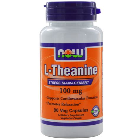 supplement l theanine l theanine anxiety disorder