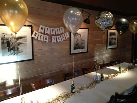 Black Gold Silver Decorations by Happy New Year Banner Dinner Table Decorations Silver Gold Black Balloons Chagne