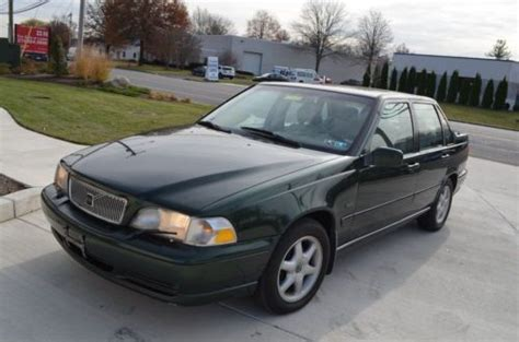 Volvo S70 Manual by Sell Used 1998 Volvo S70 5 Speed Manual Leather Roof