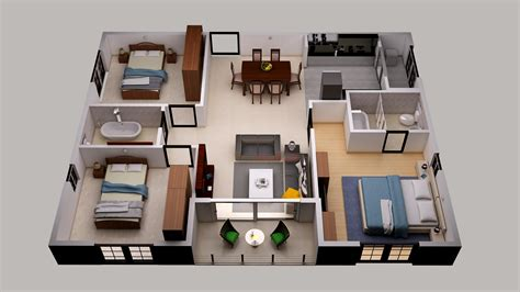3d floor plan designs map systems portfolio