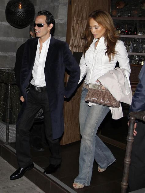 J Lo Marc Ew by J Lo And Marc Anthony Out At Luau Zimbio