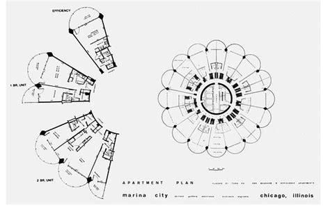 marina tower floor plan marina towers the first circular apartment buildings in