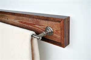bar towel holder towel holder bar rustic barn wood with current hardware