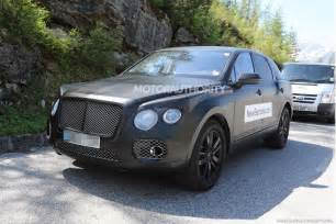 Bentley Suv Photos 2016 Bentley Bentayga Suv