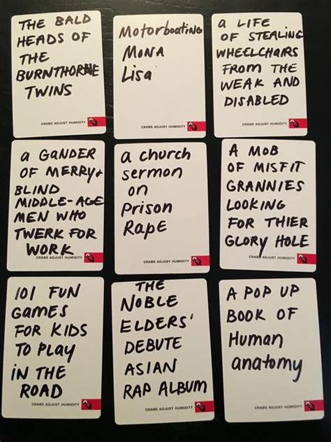 make your own cards against humanity ideas the world s catalog of ideas