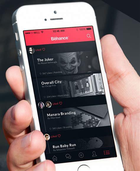 app design on behance mobile app design inspiration behance plus designbeep