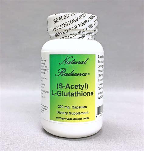 Glutathione Detox by S Acetyl L Glutathione For Antioxidant Immune Detox
