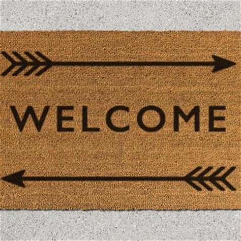 welcome mat shop etsy doormats on wanelo