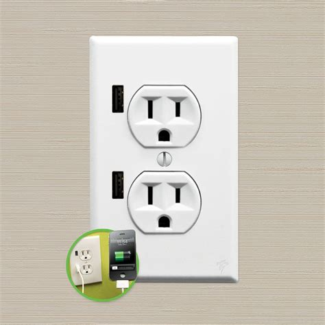 With Usb Outlets U Socket Usb Power Outlet