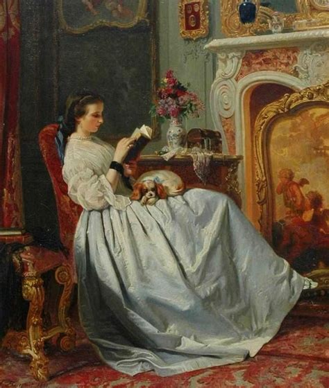 paint reader the reader charles baugniet belgian 1814 1886