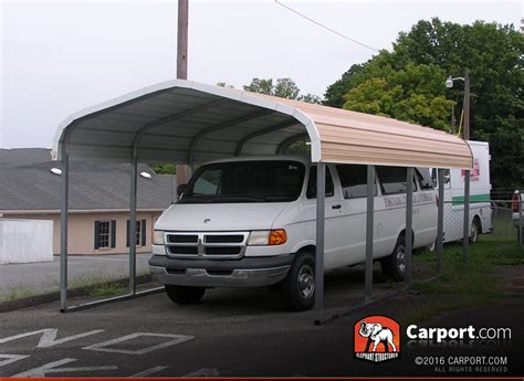 Car Port Price by One Car Carport 12x21 Regular Roof Get Metal Carport Pricing