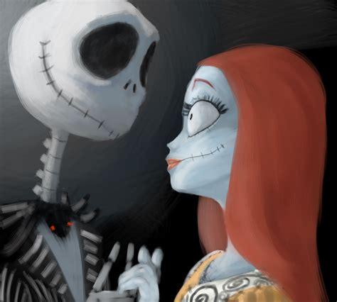 imagenes de jack y sali marta en el pais del maquillaje halloween jack y sally