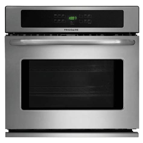 frigidaire 27 in single electric wall oven self cleaning